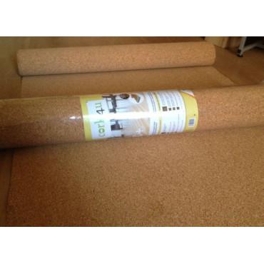 Подложка под ламинат Cork4 пробковая 2мм (Португалия)